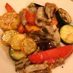 穴子と夏野菜の炒め
