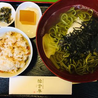 茶そばセット(憩和井 平等院店 (iwai))