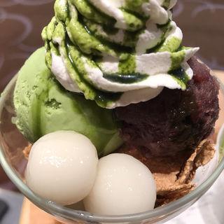 抹茶白玉パフェ(ナナズ グリーンティー 錦糸町テルミナ2店 (nana's green tea))