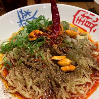 麻辣汁なし担々麺(香家 目黒東口店 (コーヤ))