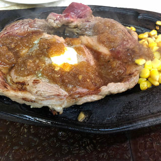 1ポンドステーキ&ライス(ステーキハウス リベラ五反田店 )