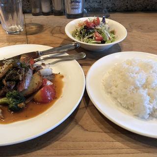 ハンバーグ定食(ズー (ZOO))