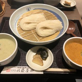 タイカレー二味セット(銀座 佐藤養助 (ぎんざ・さとうようすけ))