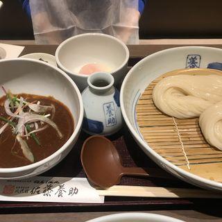 比内地鶏肉味噌つけうどん(銀座 佐藤養助 (ぎんざ・さとうようすけ))