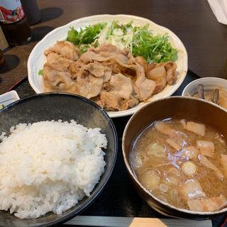 生姜焼き(正味亭 尾和)