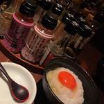 面倒くさいけどテンションの上がる卵かけ御飯(シャンパン&醤油バー フルートフルート (シャンパン&醤油バー FLUTE FLUTE))