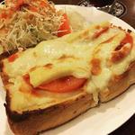 チーズポテトトースト