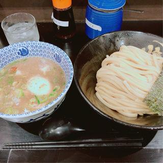 Wスープつけ麺並(300g)(無鉄砲 つけ麺 無心 (むてっぽう つけめん むしん))