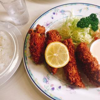 カキフライ(キクヤレストラン )