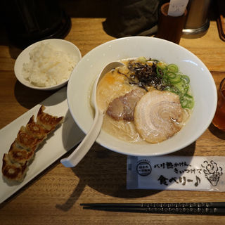 白丸元味(一風堂 札幌狸小路店)