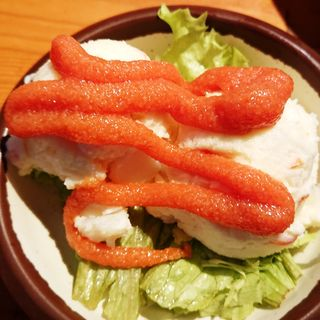 明太ポテトサラダ(七輪焼肉 安安 鹿島田店)