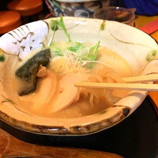 真鯛塩ラーメン(真鯛らーめん まるき)