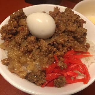 ハーフマシライス(立川マシマシ 5号店)