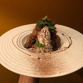 チョコアイス(OSAKA CRAFT BREWERY 茶屋町  )