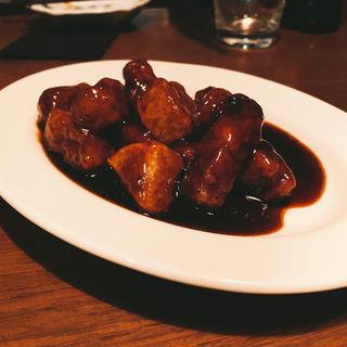 豚バラ肉の黒酢(52 (ゴニ))