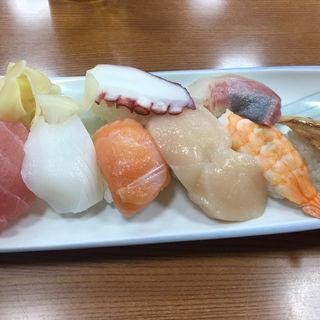 にぎり寿司(湯の坂 久留米温泉)