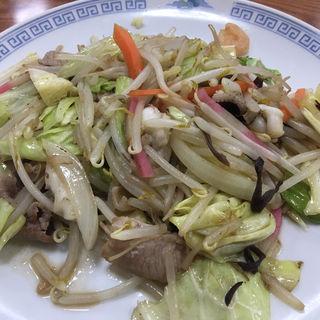 野菜炒め(湯の坂 久留米温泉)