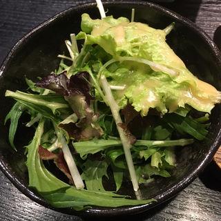 サラダ(焼き鳥 松元 西中洲本店)