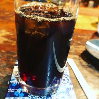 アイスコーヒー 無糖(珈琲家族可輪亜居 )