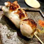 熟成胸肉(焼き鳥 松元 西中洲本店)