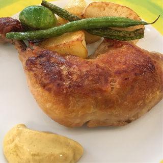 鶏のコンフィ(Cucina Italiana nico luce)