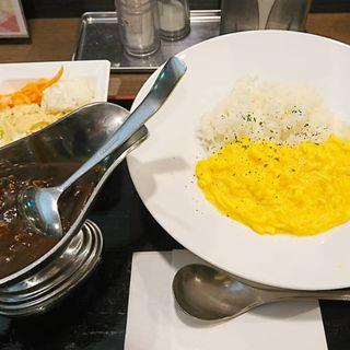 オムハヤシ(湯〜とぴあ宝 オープンカフェ)
