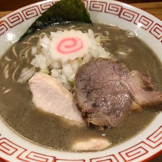強ニボ(濃厚煮干しラーメン)(がふうあん )