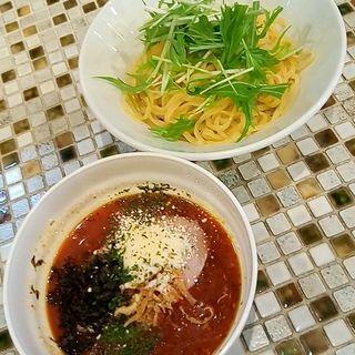 冷製バンカつけ麺(黄金バンカ麺 大塚店)