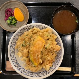 かき揚げ天丼(銀座 ハゲ天 東京駅店 )