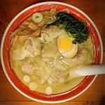 広州塩ワンタン麺(広州市場 中目黒店 (コウシュウイチバ))