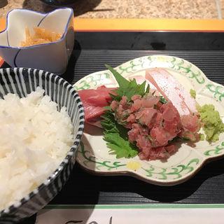 刺身定食(つくし )