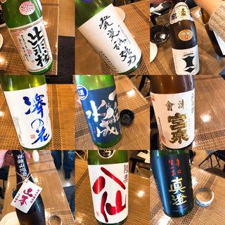 日本酒飲み放題(LITTLE SAKE SQUARE )