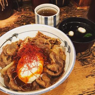 牛力丼(赤)(牛の力 (とうきょうぎゅうどん・ぎゅうのちから))