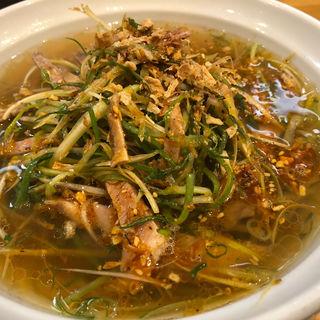 ネギそば(大阪麺哲 (メンテツ))