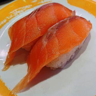 サーモン(元気寿司 川崎駅前大通店)