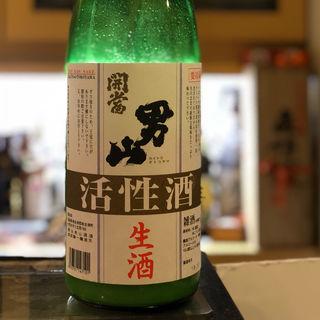 開当男山 活性酒 生酒(たく海 )