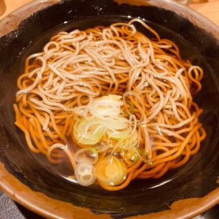かけそば(そば田 新橋店 (【旧店名】丸山製麺))