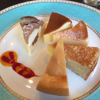 ベイクドチーズケーキ5種盛り