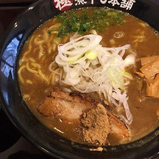 カレー煮干しラーメン(二代目 極煮干し本舗 すすきの店)