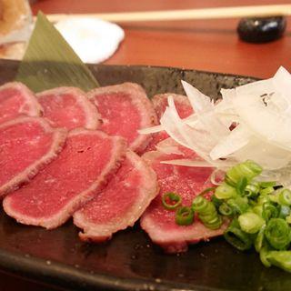 ローストビーフ(静岡おでんと旬魚 水の尾)