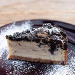 黒ごまのベイクドチーズケーキ