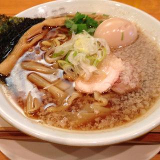 ワハハ煮干そば 並盛り(150g)(ムタヒロ 大阪福島店 )
