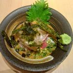 ゴマカンパチ(二◯加屋長介 中目黒店)