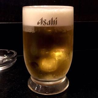 生ビール(焼鳥はなび)