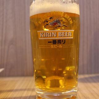 キリン樽生ビール(串かつ 千里)