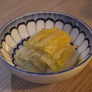 白菜漬け(串かつ 千里)