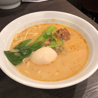 担々麺(七宝麻辣湯 なんばパークス店 (チーパオマーラータン))