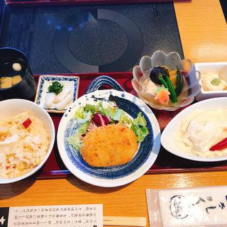 昼膳(松)(京豆冨不二乃 (きょうとうふふじの))