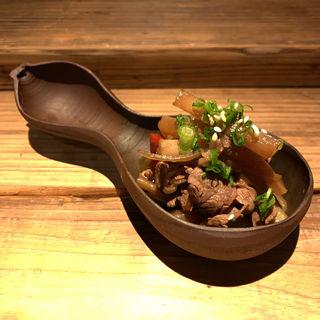 牛肉と蓮根ドライトマトきんぴら(酒井商会)