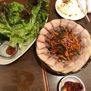 ポッサム(韓国料理 李朝 )